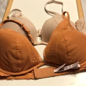 Victoria's Secret Plunge Lightly Lined Bras